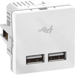 LK FUGA® indsats USB Lader dobbelt 2,1A