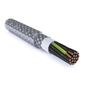 Styrekabel yslysy-jz 12g2,5mm2 m/stålfletskærm T500
