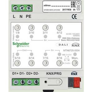 KNX DALI-GATEWAY BASIC REG-K/2/16/64