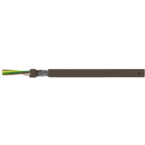 CTS kabel lihch 3X0,75 brun uv bestandig skærmet T500